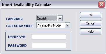 multi availability calendar